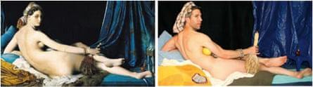 La Grande Odalisque by Ingres and Craig White