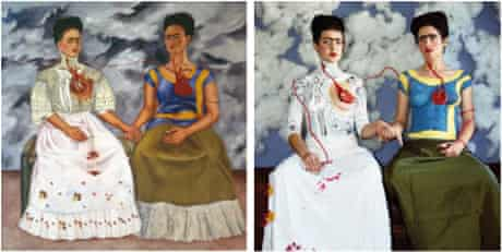 The Two Fridas by Frida Kahlo - and Claire Ball