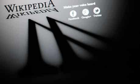 Wikipedia blackout