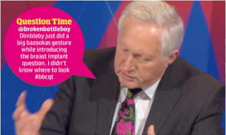 Dimbleby on Question Time