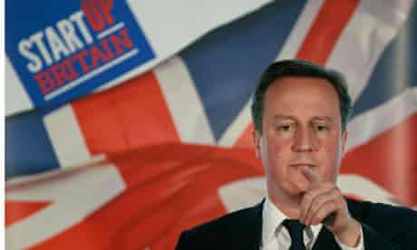 David Cameron makes a speech about the financial markets