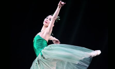 Ballet dancer Tamara Rojo