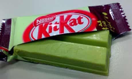 Green Kit Kat