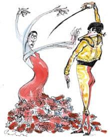 Europa Spaniards by Polish cartoonist Jacek Gawlowski