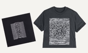 The Disney T-shirt inspired by Joy Division's Unknown Pleasures album
