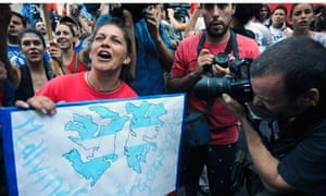 Argentinian activists air their views on the Falkland islands