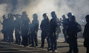 Occupy Oakland police