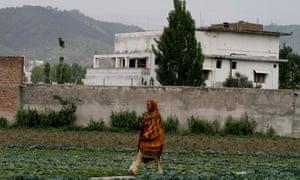 Osama bin Laden compound in Abbottabad