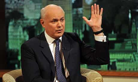 Iain Duncan Smith told The Andrew Marr Show the Stephen Hester bonus was a matter for the RBS board.