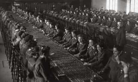 Phone operators in Vienna, c1910