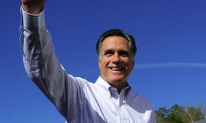 Mitt Romney on the campaign trail in Jacksonville, Florida