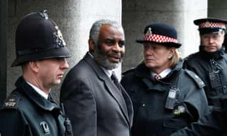 Stephen Lawrence's father outside court