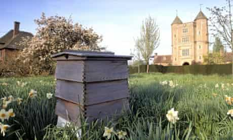 A beehive at the National Trust's Sissinghurst in Kent