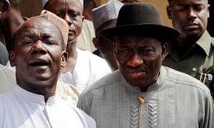 Nigerian president visits church attacked on Christmas Day