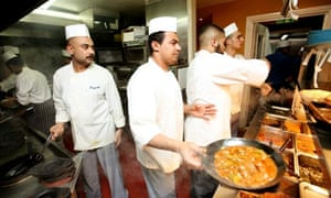 In the kitchen of Tayyabs curry house in Whitechapel, east London