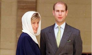Prince Edward and Counterss of Wessex in Bahrain