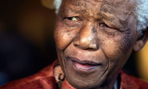 File photo of  Nelson Mandela formally announcing his retirement from public life in Johannesburg