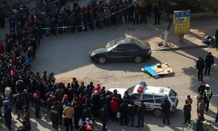 Zeng Kaigui fatale robbery in Nanjing