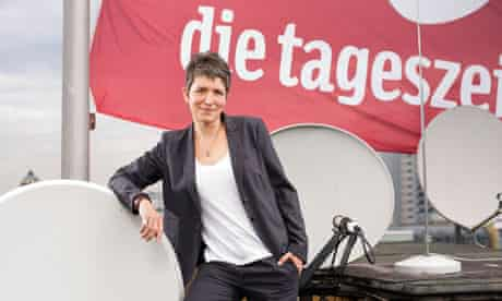 Ines Pohl, editor of the German newspaper