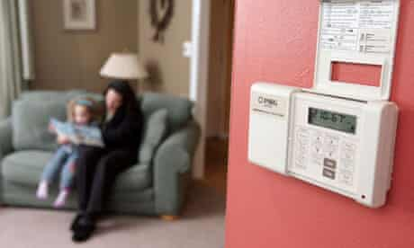 A smart meter in the home