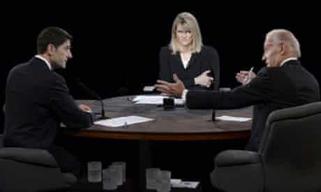 Martha Raddatz moderates vice presidential debate