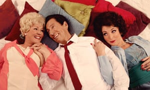 Frances Barber, Jonathan Hyde and Tracy-Ann Oberman in Rock and Doris and Elizabeth.