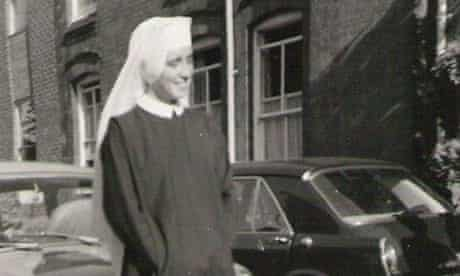 Fisher in 1968 as a nun