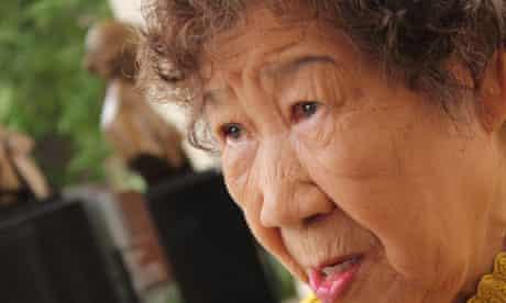 Kang Il-chul, a former Korean sex slave