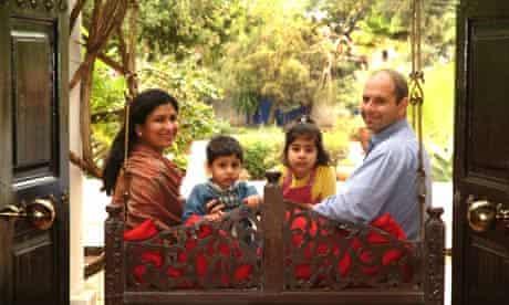 Tahir Shah and family