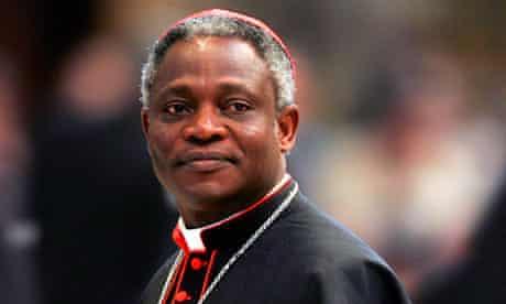 Cardinal Peter Turkson of Ghana