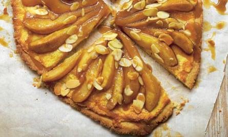 Hugh Fearnley-Whittingstall's pear and frangipane tart