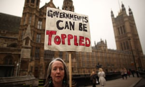 Protestors Against Spending Cuts Take Part In TUC's 'March For The Alternative' Through London