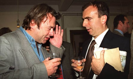 Peter and Christopher Hitchens, 1999