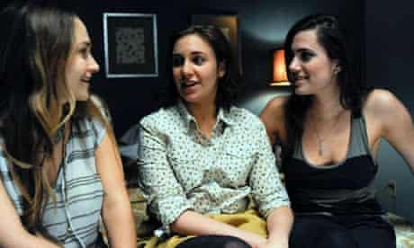 Girls …  Jemima Kirke, Lena Dunham and Allison Williams