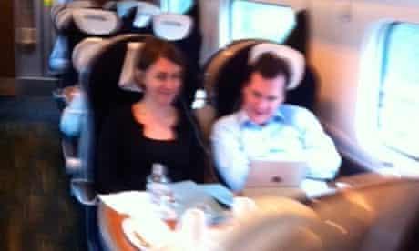 George Osborne train pain