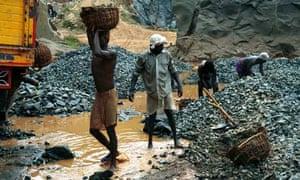 Kerala stone quarry