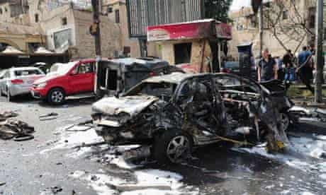 car bomb damascus syria