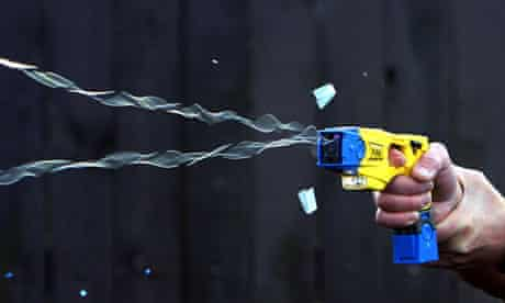 Campaigners raise concerns over increased police Taser use | Police | The Guardian