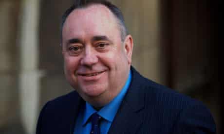 Scotland first minister Alex Salmond