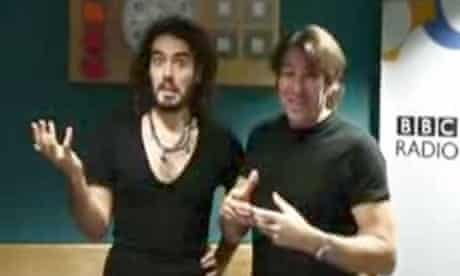 Russell Brand and Jonathan Ross.
