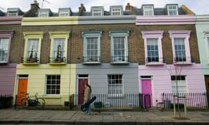 Row of house in Camden