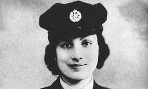 Noor Inayat Khan in uniform during the war.