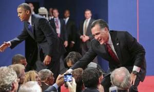 Presidential debate at Boca Raton
