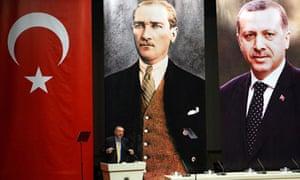 Turkey's Prime Minister Recep Tayyip Erd