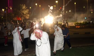 Kuwaiti opposition supporters run for co