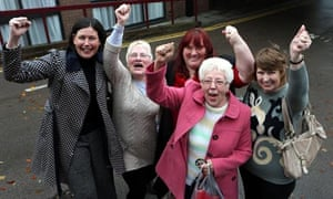 Equal pay ruling women Birmingham
