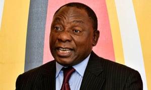 Cyril Ramaphosa