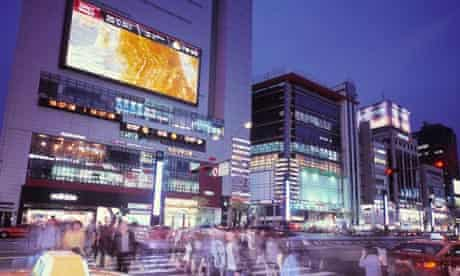 Gangnam district, Seoul … the point of it is to be seen there.