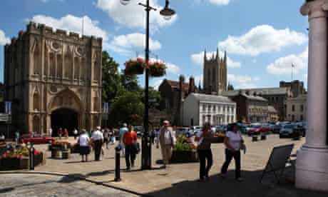 All that a market town should aspire to: Bury St Edmunds in Suffolk
