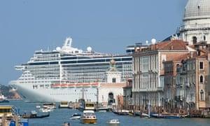 Cruise liner Venice